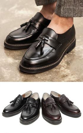 复古/古典流苏包子鞋