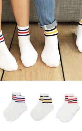 萨姆松配色袜子