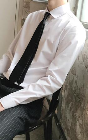 广色连衣裙衬衫