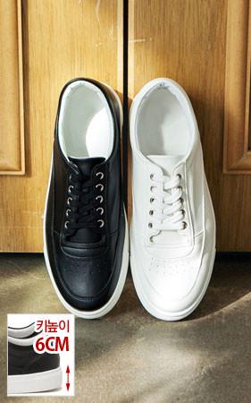 宾迪增高鞋胶底帆布鞋