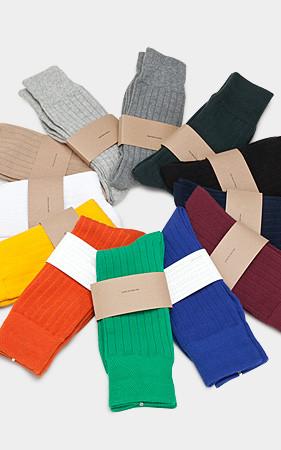 12color贴身船员袜子