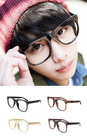Poly've四角标准全部 - 黑框眼镜