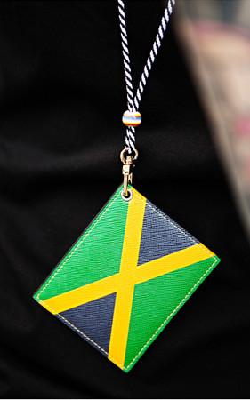 世界国旗卡项链