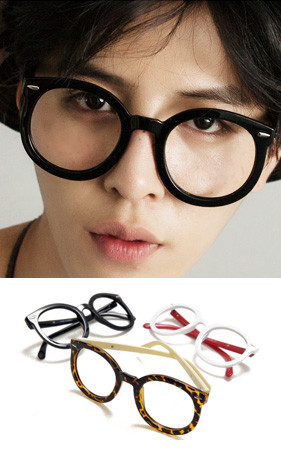 代替钢眼镜