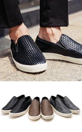 扩展布雷松紧帆布鞋