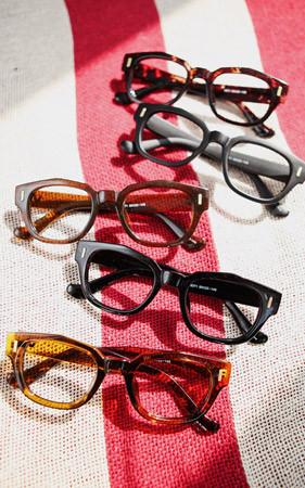 非圆边眼镜