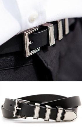 三合一超薄皮带扣
