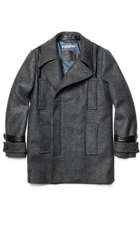 瓦基巴基多口袋零售方案呢子大衣