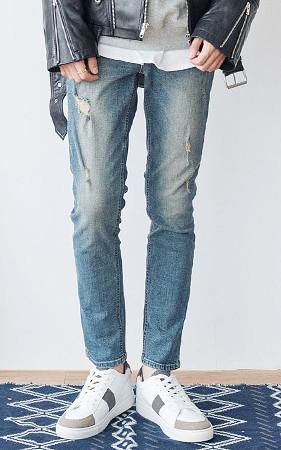 灰尘二手牛仔裤
