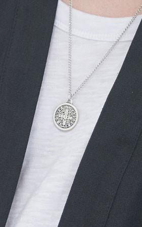 信徒硬币项链