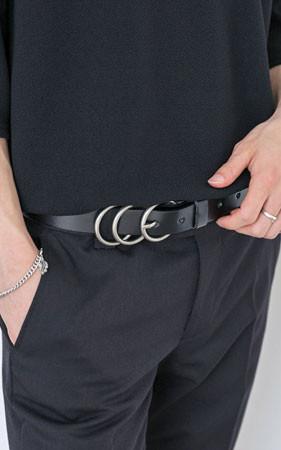 三环扣腰带