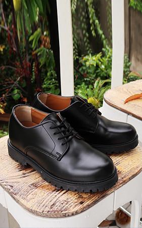 7cm拉力增高鞋德比鞋