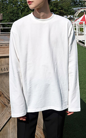 Haibyotton长款T恤衫