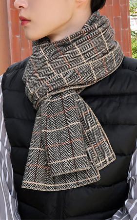 波士顿羊毛羽巾