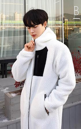 Insa羊毛羊毛外套