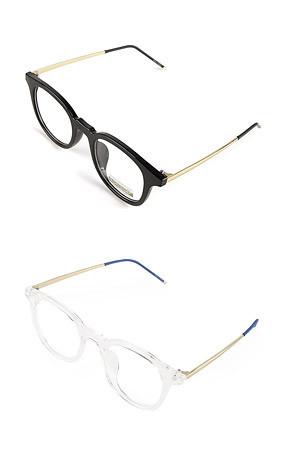 大胆的眼镜