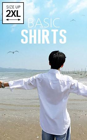 7color基本的衬衫