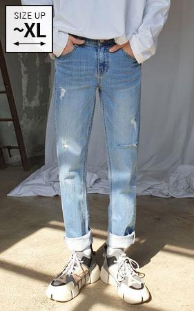 想象一下Destroid牛仔裤