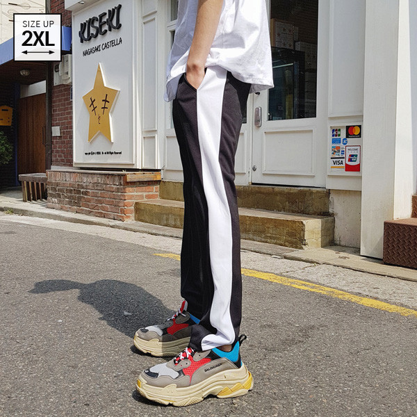 线条Track运动服短裤
