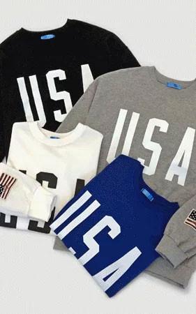 捕捉时间特价12点限定数量100 <br> USA Specialty Sided Surface宽松运动衫