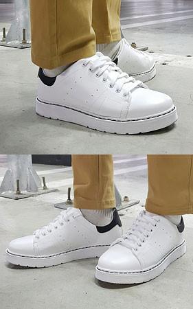 Evans增高鞋胶底帆布