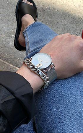 梅森金属手表