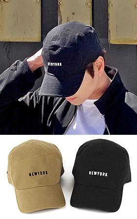 纽约刻字帽子帽子