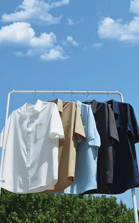 夏天生活短袖衬衫