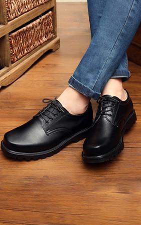 早鸟书销售20,000韩元折扣<br> 3cm增高鞋Godly Safe德比鞋
