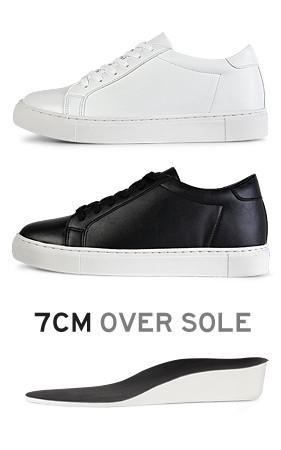 <em>1 + 1:1 2 3订单</em>特立独行2018春季男装<em>折扣</em> <br> 6.5厘米每日增高鞋胶底帆布鞋