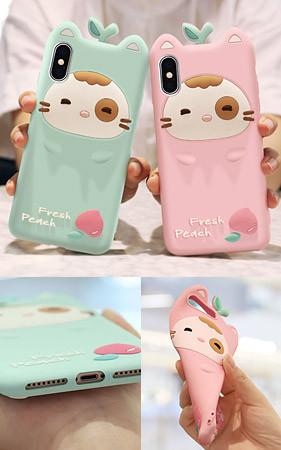 桃猫iphone盒子