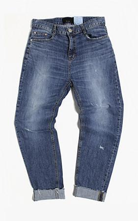 船舶当天礼品衬衫礼品<br> + 5cm锥形卷牛仔裤(3凿手油)