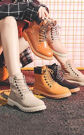 情侣230~280mm <br> 4cm增高鞋Timbus情侣高步行者<br>早鸟预售40%
