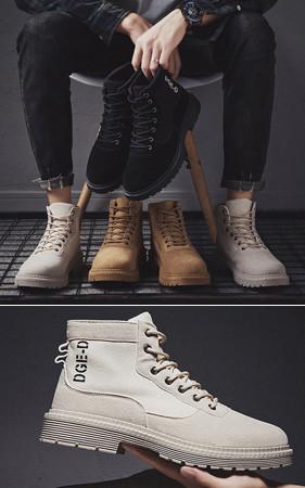 Fake Desert马丁短靴