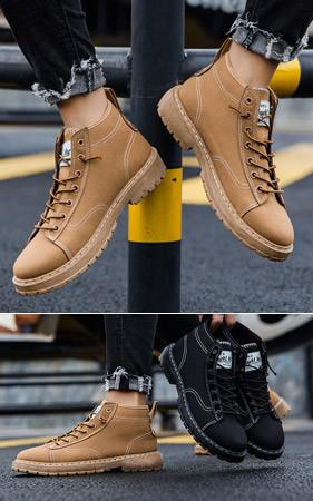 Verno Row马丁短靴