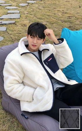 山棉衣羊毛外套
