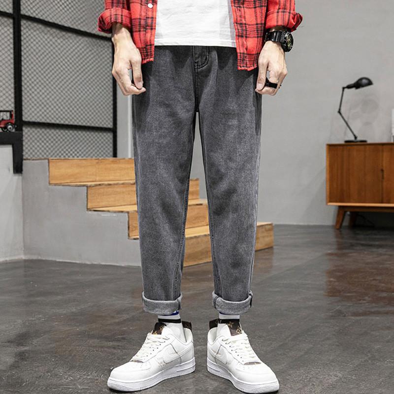 温和加绒牛仔裤