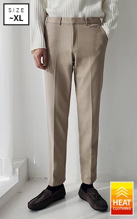 柔丝touch加绒宽松长裤