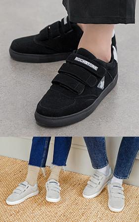 <b>☆女朋友礼物</b> <Br>魔术贴胶底帆布鞋