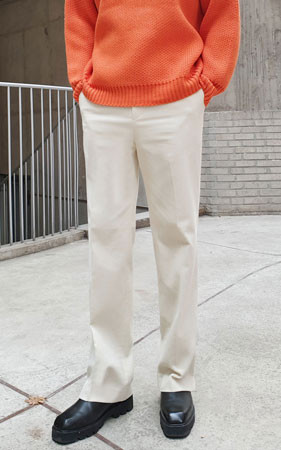 灯芯绒装饰短裤