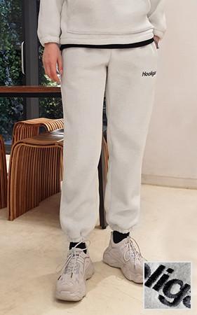 流氓刺绣运动服短裤