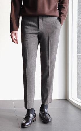 Maison Bokashi宽松长裤