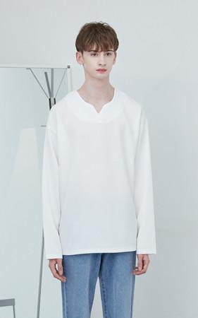 Romance宽松款T恤衫(衬衫材质)