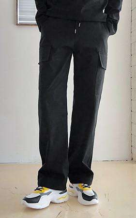 工装裤松紧带宽裤
