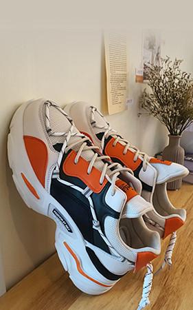 预购50% <br> 5cm增高鞋网Ugly胶底帆布鞋
