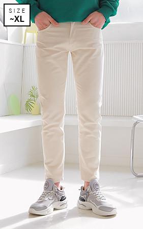 燕麦直筒棉裤