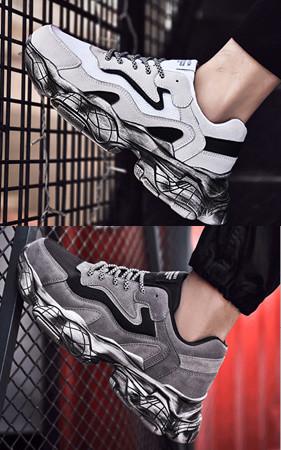 预购50% <br> 6.5cm增高아웃肮脏的外底胶底帆布鞋