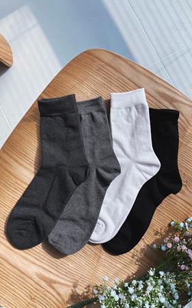 彩色素色袜子<br>最小订购数量2