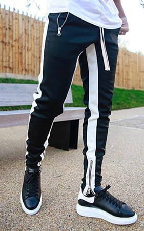 预购预售50% <br>拉链线条运动服短裤